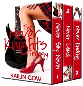 Never Knights Trilogy Set