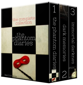 The Phantom Diaries Collection Books 1-3