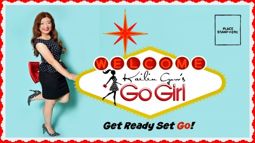 Kailin Gow Go Girl Show Title Card with Slogan - 1920x1080